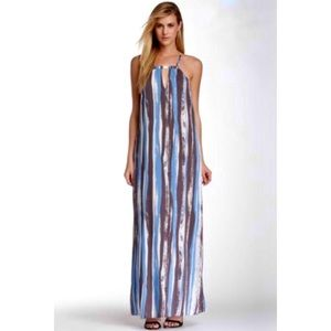 BCBGeneration Printed Casual Maxi Dress XS